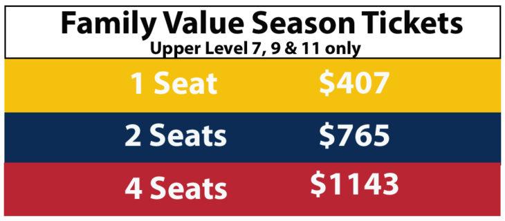 19-20 Family Value Tickets