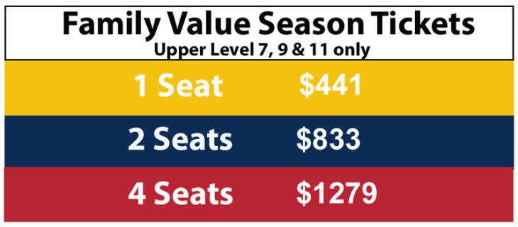 21-22 Family Value Tickets