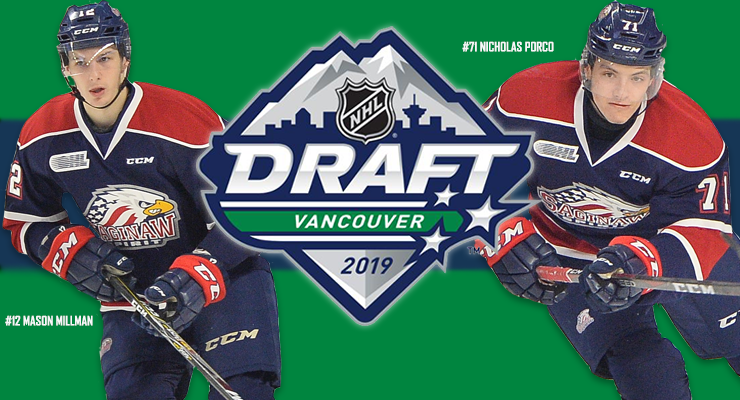 Saginaw Spirit Prepare For 2019 Nhl Draft In Vancouver Saginaw