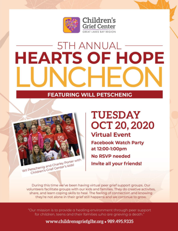 CGC Luncheon -- October 20th