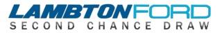 Lambton Ford Second Chance Draw Logo 2019