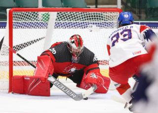 FRISCO, TX USA - Canada's Benjamin Gaudreau Chris Tanouye/HHOF-IIHF Images)