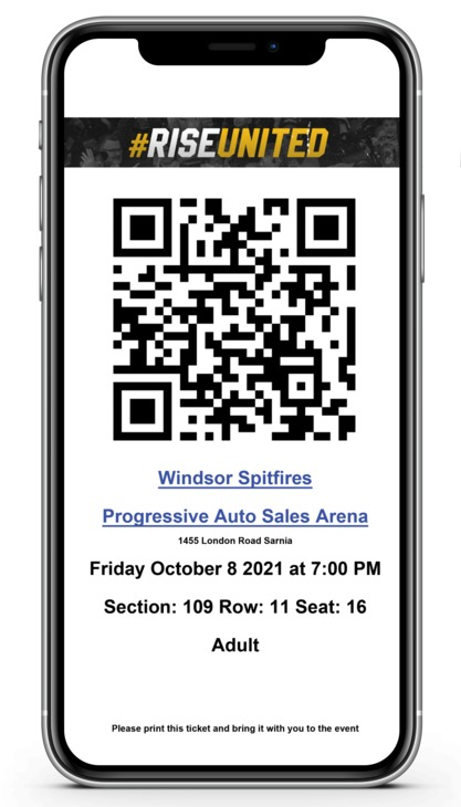 Iphone with Sting Ticket
