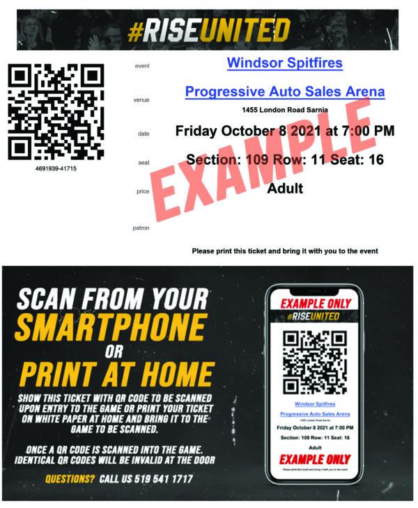 Sarnia Sting | Print at Home Tickets