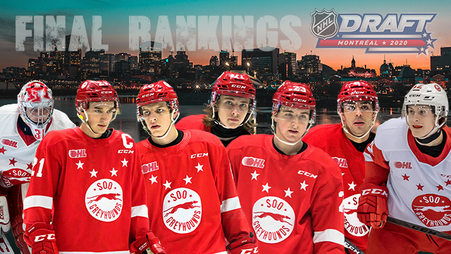 Seven Greyhounds In Final 2020 Nhl Central Scouting Draft Rankings Soo Greyhounds