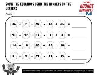 6Math (Addition & Subtraction) 1