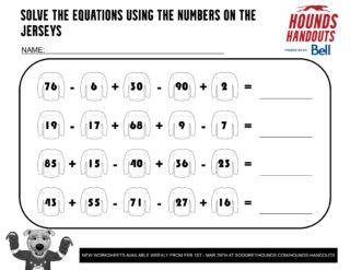 6Math (Addition & Subtraction) 2