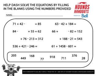 8Math (Addition & Subtraction) 3