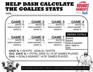 9Math (Goalie Stats)